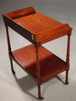 Small William IV Period Two Tier Trolley (3 of 4)