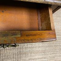 Stunning Victorian Maple & Co Antique Oak Pedestal Desk (2 of 9)