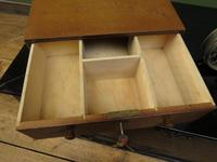 Small Wooden Table Top Cash Drawer, 1930s (2 of 16)