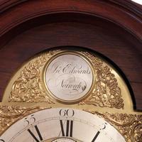 Antique Mahogany Longcase Clock (10100) (2 of 12)