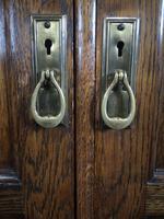 Good Quality Carved Oak Wardrobe. A Gardner & Sons, Glasgow (6 of 13)