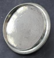 Liberty & Co Tudric Pewter Biscuit Jar, Number 01065, Lion Handles c.1910 (6 of 8)
