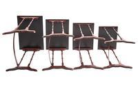 Fine Edwardian Inlaid Mahogany Nest of Quartetto Tables (6 of 6)