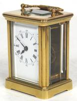 Superb Miniature French 8 Day Carriage Clock Lever Platform c.1880 Working (4 of 10)