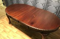 Edwardian Mahogany Extending Dining Table Two Leaves (7 of 16)