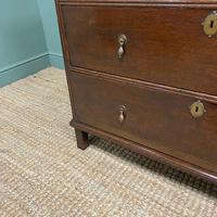 Early 18th Century Country House Antique Oak Chest Of Drawers (2 of 8)