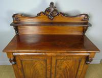 Victorian Flame Mahogany Chiffonier Cabinet Sideboard (8 of 8)
