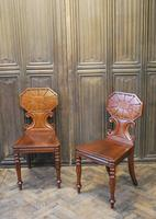 Pair of Fine Quality Regency Hall Chairs (7 of 7)