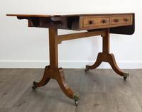 Solid Mahogany 1820s Sofa Table (6 of 7)