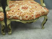 Pair of Italian Carved and Painted Armchairs (11 of 16)