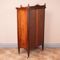Inlaid Rosewood Music Display Cabinet (15 of 15)