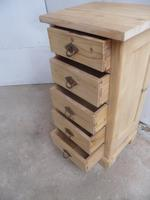 Lovely Victorian Antique Pine 5 Drawer Chest / Cabinet to wax / paint (9 of 10)