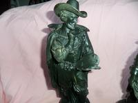 Fine Pair of French Spelter Figures c.1870 (3 of 4)