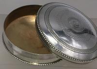 Superb French Silver Pill Trinket Box Early 20th Century Paris Hallmark (5 of 6)
