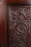 Victorian Gothic Revival Oak Corner Cupboard (10 of 13)