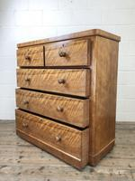 Antique Satinwood Chest of Drawers (6 of 10)