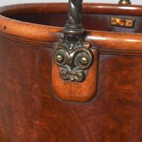 Victorian Mahogany Plate Bucket by Hussey's (6 of 8)