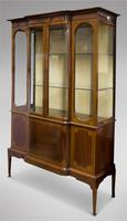 Edwardian Mahogany Display Cabinet (5 of 5)
