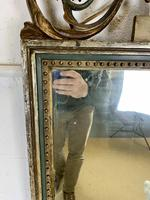 Beautiful Large Green & Gilt Wall Mirror (6 of 9)