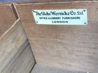 Original Edwardian Globe Wernicke Oak Roll Top Desk (5 of 13)