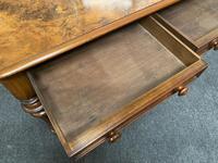 Fine Rare Burr Walnut Writing Table or Desk (14 of 20)