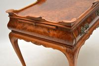 Antique Burr Walnut Tray Top Side Table (4 of 8)