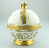 John Wadsworth : Limited Edition 1/600 Minton Orb Commemorate the Crowning of Qeii 1953 (5 of 9)