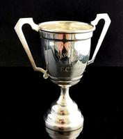 Vintage Sterling Silver Trophy Cup, 1940s (6 of 10)