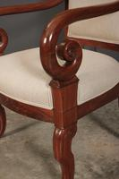 Pair of French Mahogany Empire Chairs (6 of 13)