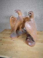 Pair of Salt Glazed Eagles c.1910 (11 of 11)