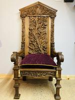 Gothic Revival Throne (14 of 20)