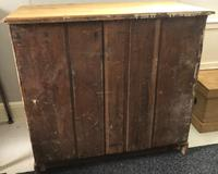 Large Stripped Pine Chest of Drawers (8 of 9)