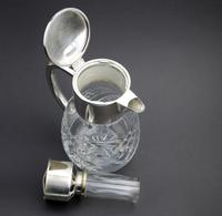 Substantial WMF Deep Cut Glass & Silver Plate Cooling Lemonade Jug c.1935 (8 of 10)