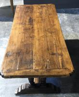 French Oak Farmhouse Refectory Dining Table (5 of 20)