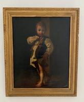 Early 19th Century Italian Oil on Canvas