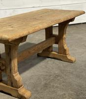 Great Rustic French Bleached Oak Coffee Table (10 of 25)