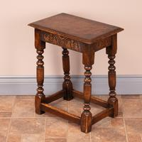 Carved Oak Joint Stool (11 of 15)