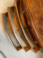 George III Bow Chest of Drawers (13 of 14)