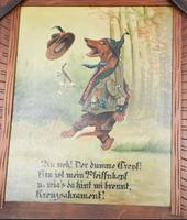Pair of Hunting Dogs Novelty Oil Paintings (4 of 9)