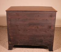 Fine Bowfront Chest of Drawers in Mahogany c.1800 (5 of 10)