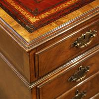 Walnut Pedestal Desk by Waring and Gillow (16 of 18)