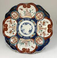 Antique Oriental Imari Porcelain Dish c.1865 (3 of 4)