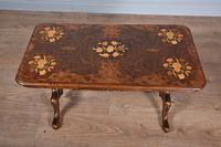Antique victorian walnut coffee table (3 of 3)