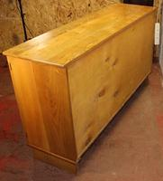 Lovely 1960s Burr Ash Sideboard in a Shaker Style (5 of 5)