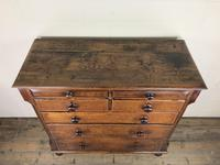 Antique Welsh Oak & Mahogany Chest of Drawers (10 of 15)