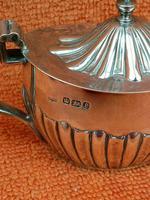 Antique Sterling Silver Hallmarked Mustard Pot 1897 Fenton Brothers Ltd,   Sheffield (4 of 11)