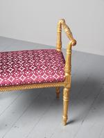 Antique Adams Style Gilded Window Seat (8 of 12)