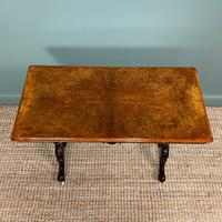 Magnificent Victorian Figured Walnut Antique Centre Table (6 of 7)