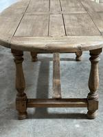 Super Rustic French Oval Farmhouse Dining Table (12 of 36)