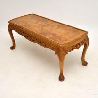 Antique Burr Walnut Coffee  Table (4 of 7)